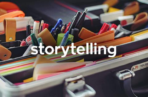 creación de historias con propósito social